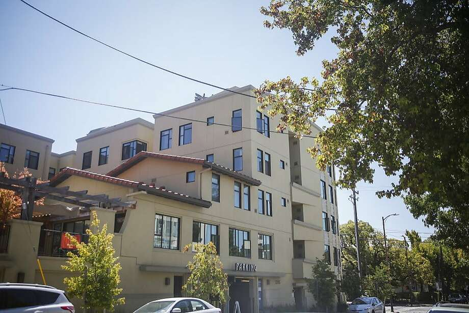The Metropolitan apartment building in the 2300 block of Durant Avenue in Berkeley on Sunday, July 23, 2017. Photo: Nicole Boliaux, Hearst