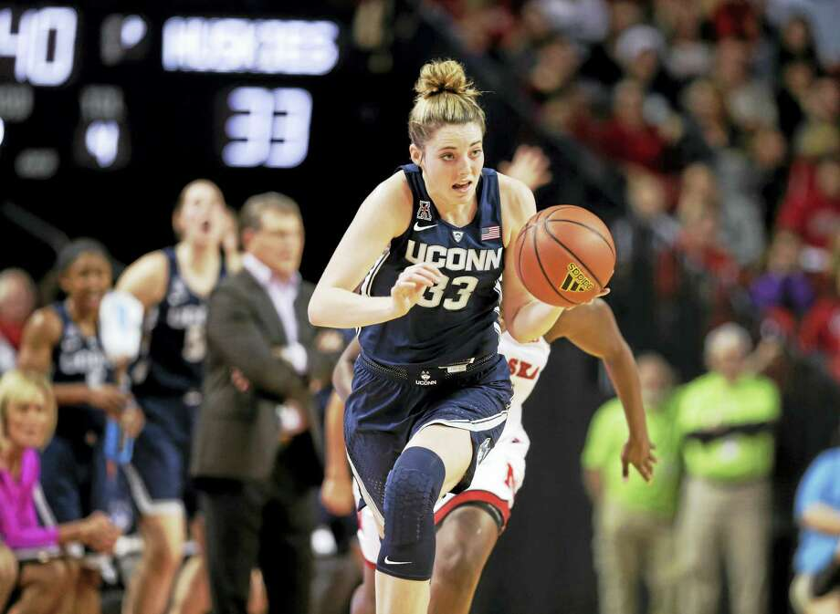 UConn's Katie Lou Samuelson. Photo: The Associated Press File Photo   / Copyright 2016 The Associated Press. All rights reserved.