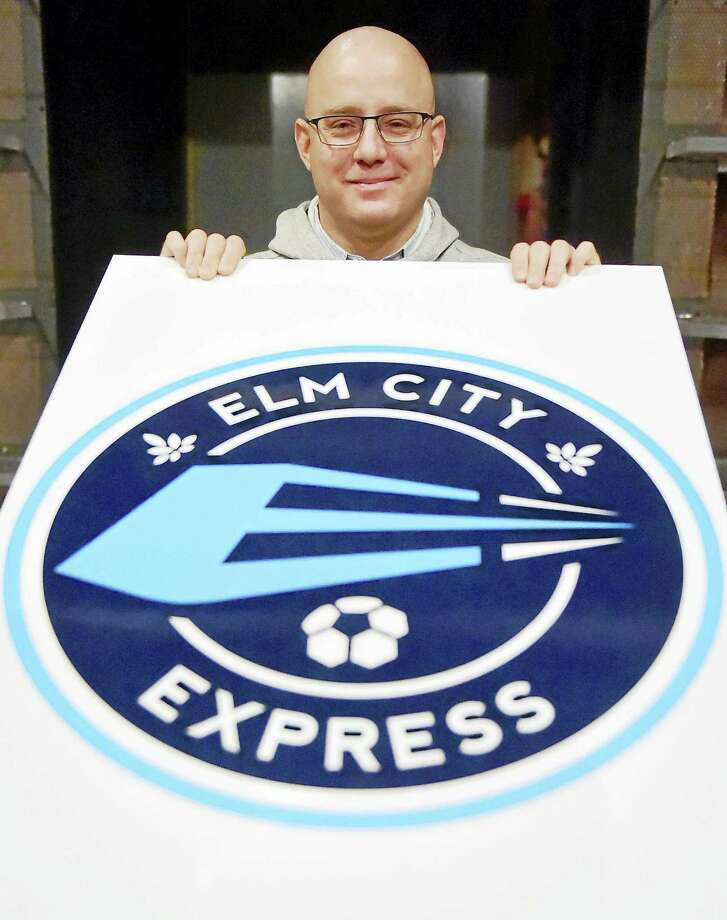 Zack Henry, President of the Elm City Express, announced Monday that the National Premier Soccer League will be bringing a soccer team to New Haven. Photo: Peter Hvizdak — Register   / ©2016 Peter Hvizdak