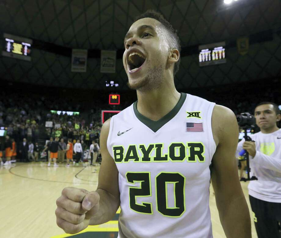 Baylor guard Manu Lecomte. Photo: The Associated Press File Photo   / FRE36102 AP