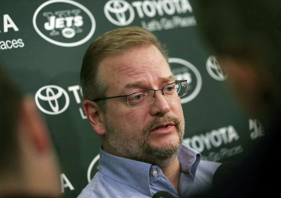 Jets general manager Mike Maccagnan. Photo: Mel Evans — The Associated Press    / Copyright 2017 The Associated Press. All rights reserved.