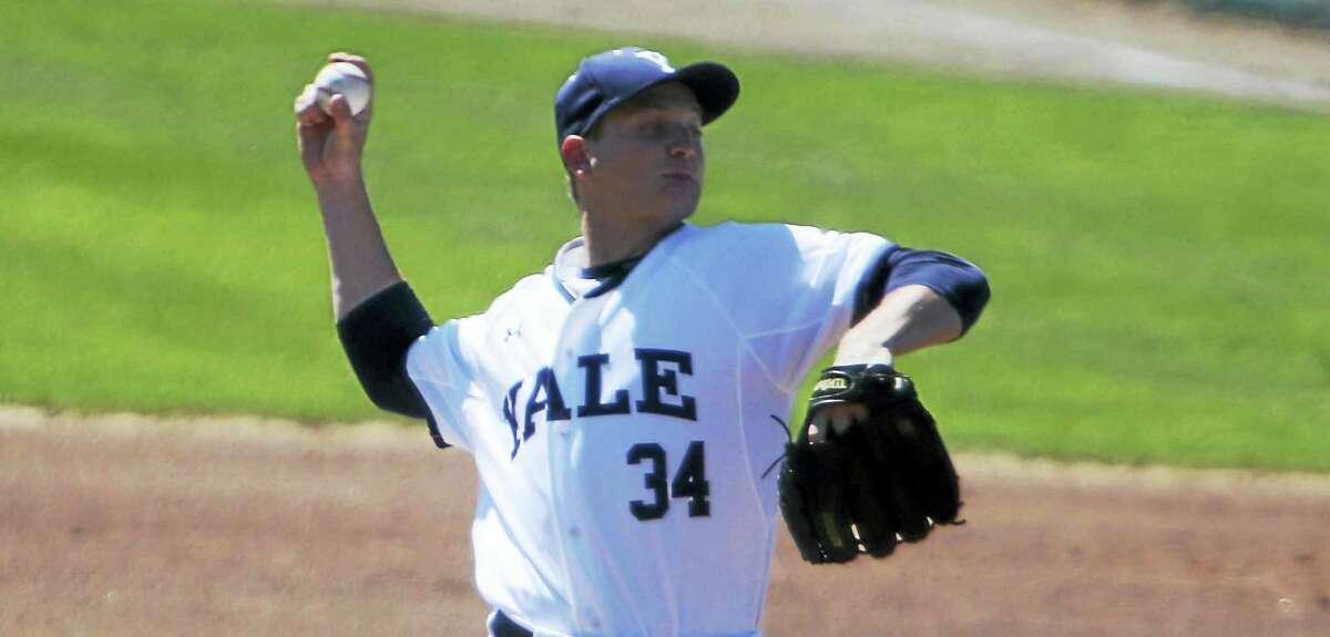 Yale pitcher Scott Politz.