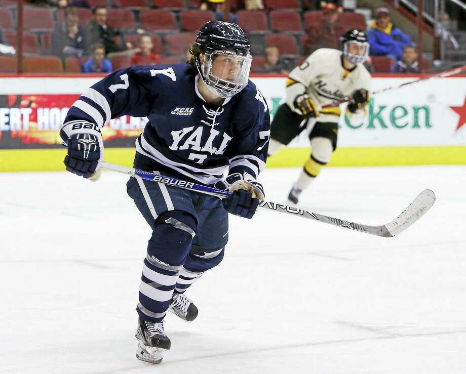 Yale forward Joe Snively. Photo: The Associated Press File Photo   / FR157181 AP