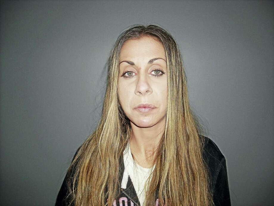 Police allege Courtney M. Worthington of West Haven held up the Killingworth TD Bank on Thursday evening, making off with an unknown amount of cash. She was apprehended at the Quality Inn in East Haven, officials say. Photo: Courtesy State Police