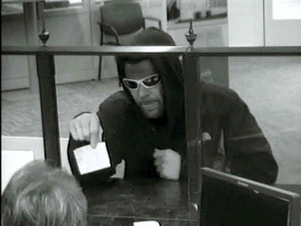 Police are looking for this suspect who they say robbed a bank in New Haven Wednesday.