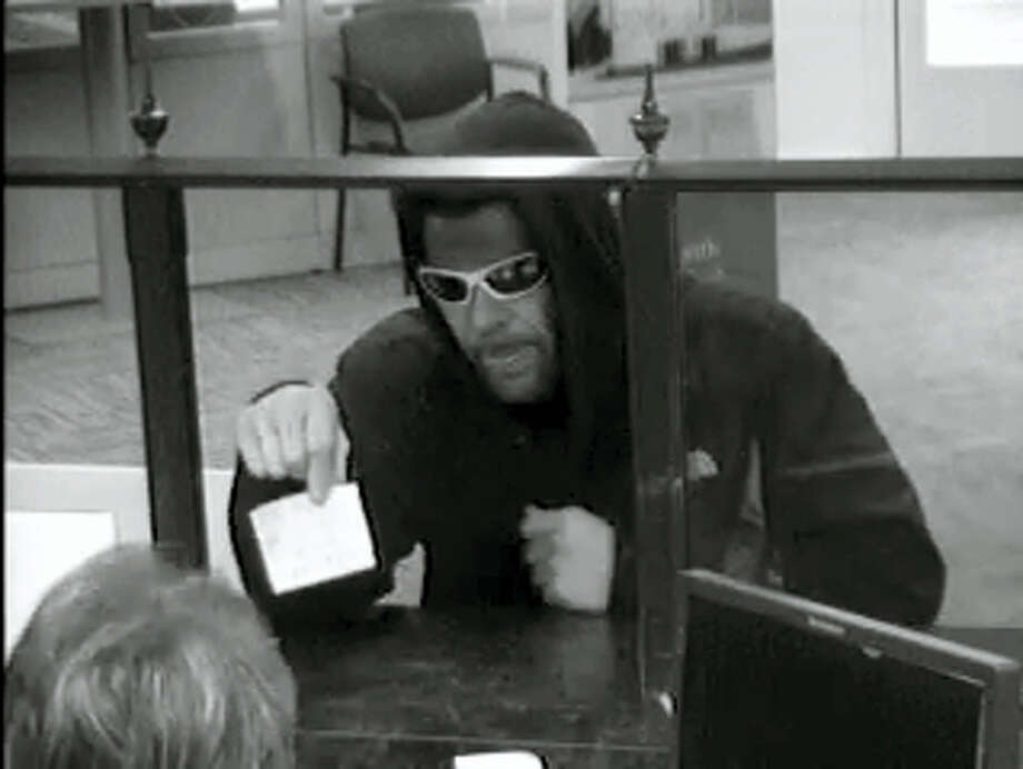 Police are looking for this suspect who they say robbed a bank in New Haven Wednesday. Photo: New Haven Police Department
