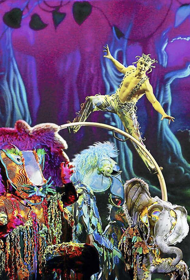 "A moment from ""Cirque Dreams Jungle Fantasy."" Photo: Contributed"