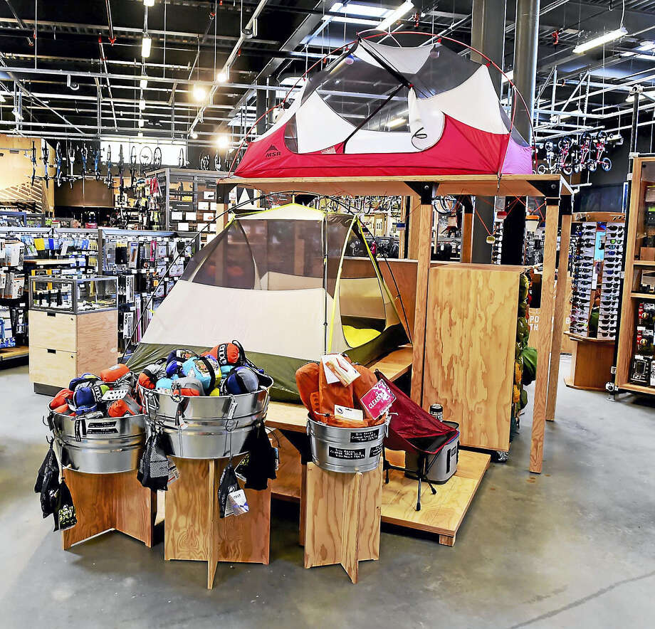 REI, a retail chain store specializing in outdoor recreational equipment, outdoor clothes, footwear and travel gear, recently opened a store in Milford. Photo: Peter Hvizdak — New Haven Register   / ©2016 Peter Hvizdak
