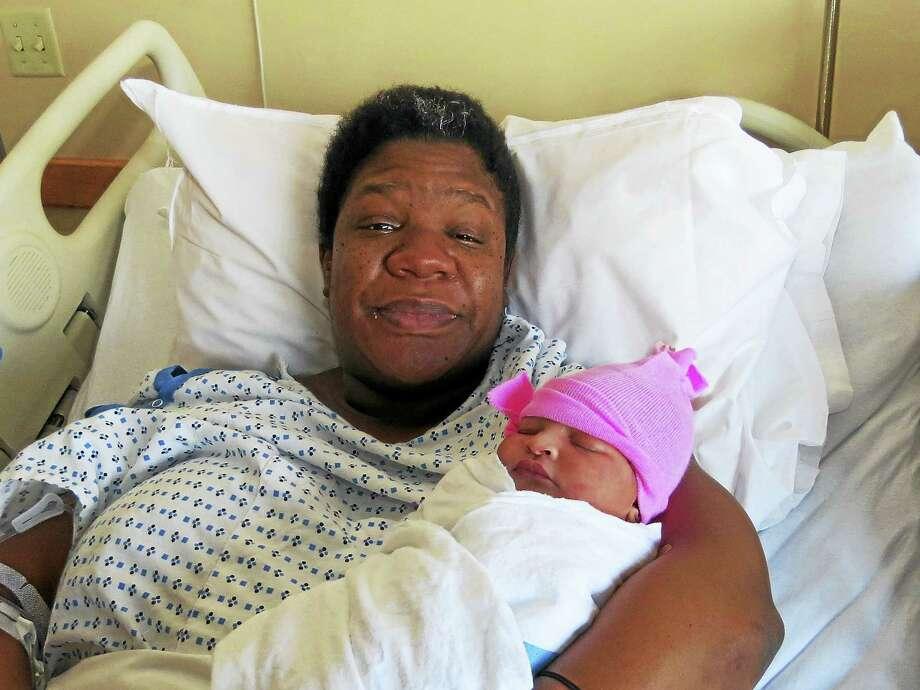 PHOTO COURTESY BRIDGEPORT HOSPITALCaressa Jones and her daughter, Arianna Lassus. Photo: Digital First Media