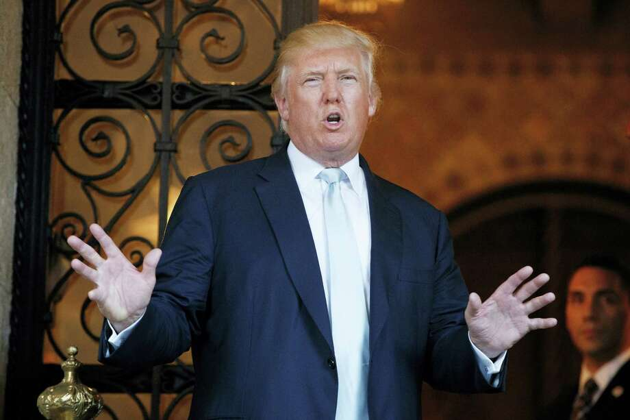 President-elect Donald Trump speaks to reporters at Mar-a-Lago, Wednesday, Dec. 28, 2016, in Palm Beach, Fla. Photo: Evan Vucci — AP Photo / Copyright 2016 The Associated Press. All rights reserved.