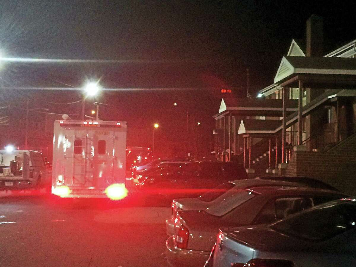 One person was treated for smoke inhalation after a fire on Franklin Street was believed to have been started by a toy hoverboard. PHOTO BY MARK ZARETSKY - NEW HAVEN REGISTER