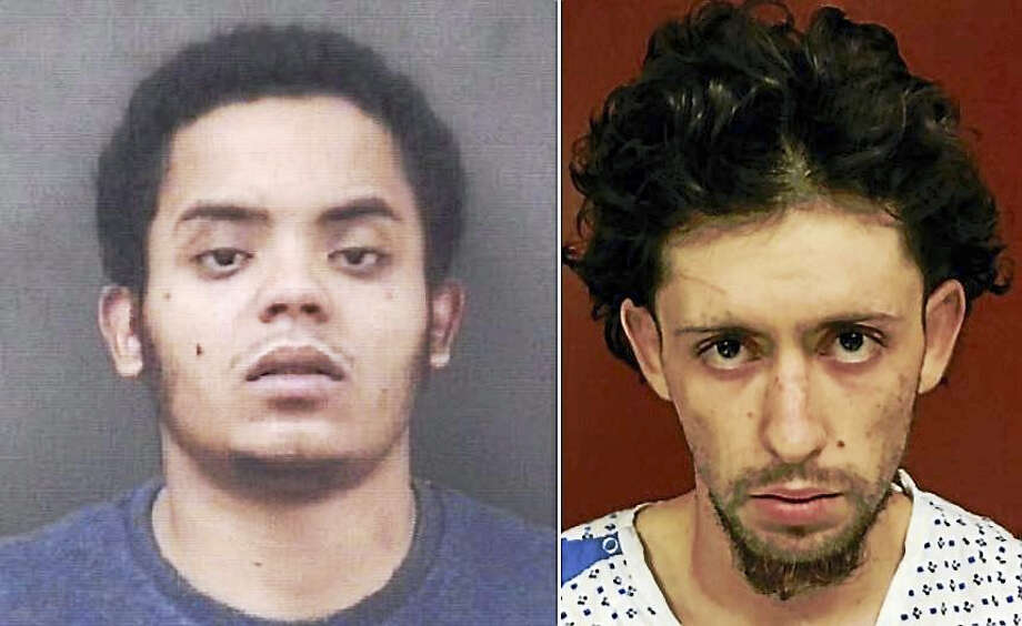 Kelvin Quintero and Noel Figueroa-Flores Photo: Courtesy Of Milford Police Department