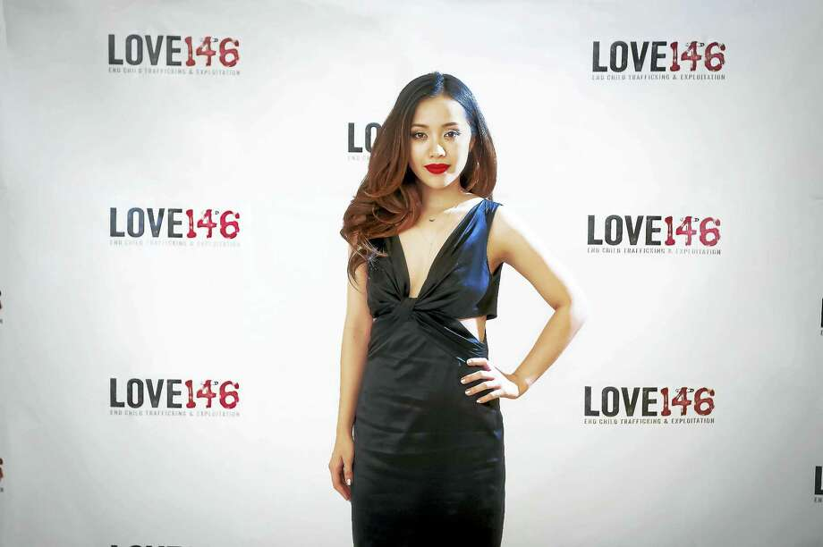 Michelle Phan at Love146's 2015 Red Gala in New York. Photo: Contributed Photo — Lisa Daly