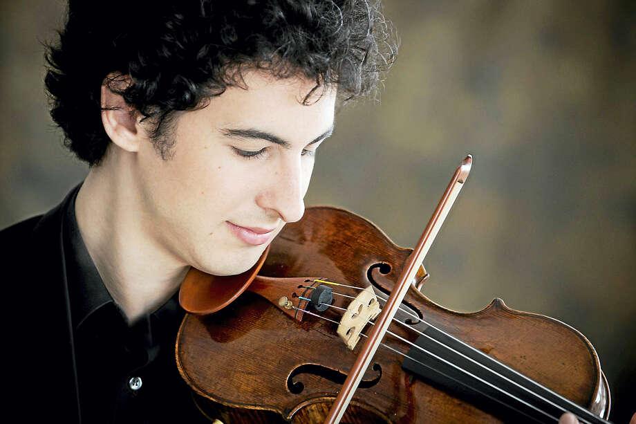 Violinist Itamar Zorman Photo: Photo Courtesy Of Richard Blinkhoff