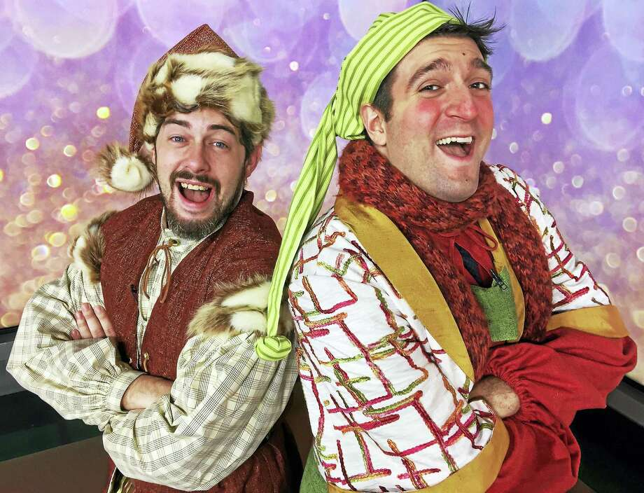 Justin Rugg, left, as Claus and Andrea Pane as Calon. Photo: Contributed