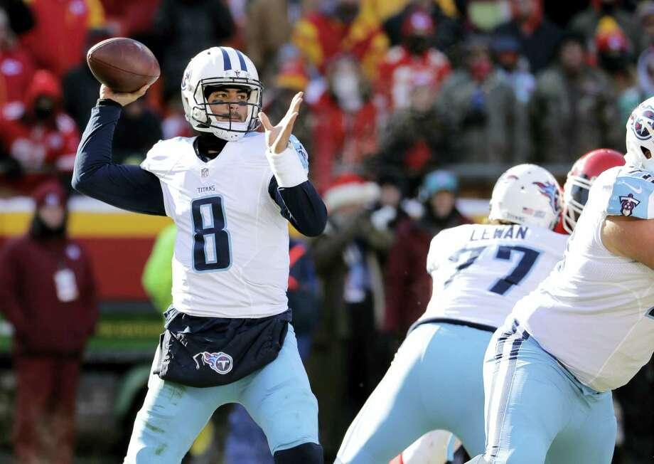 Tennessee Titans quarterback Marcus Mariota. Photo: The Associated Press File Photo   / Copyright 2016 The Associated Press. All rights reserved.