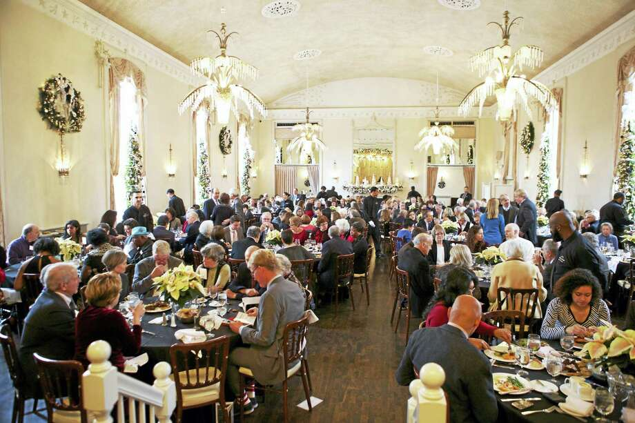 The 2014 setting of the Arts Awards at the New Haven Lawn Club. Photo: Contributed Photo
