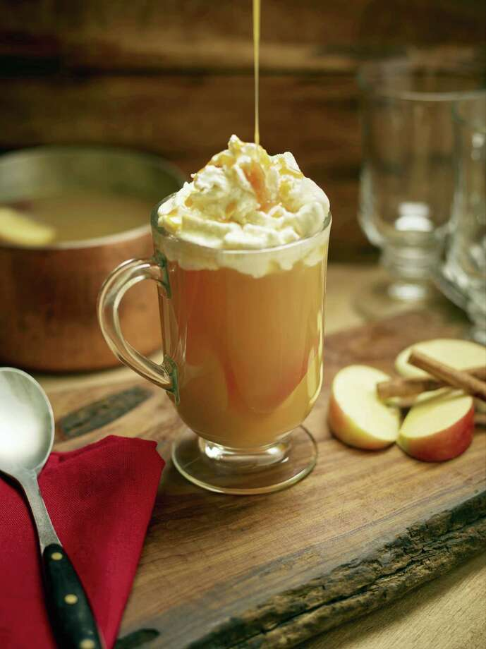 This hot cider cocktail is from a recipe by the Culinary Institute of America. Photo: Phil Mansfield — The Culinary Institute Of America   / © 2016 The Culinary Institute of America - Phil Mansfield