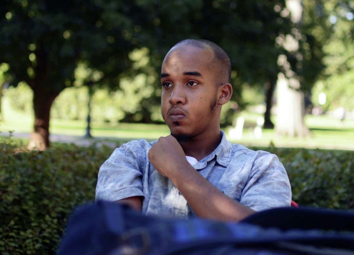 This August 2016 image provided by TheLantern.com shows Abdul Razak Ali Artan in Columbus, Ohio. Authorities identified Abdul Razak Ali Artan as the Somali-born Ohio State University student who plowed his car into a group of pedestrians on campus and then got out and began stabbing people with a knife Monday, Nov. 28, 2016, before he was shot to death by an officer.