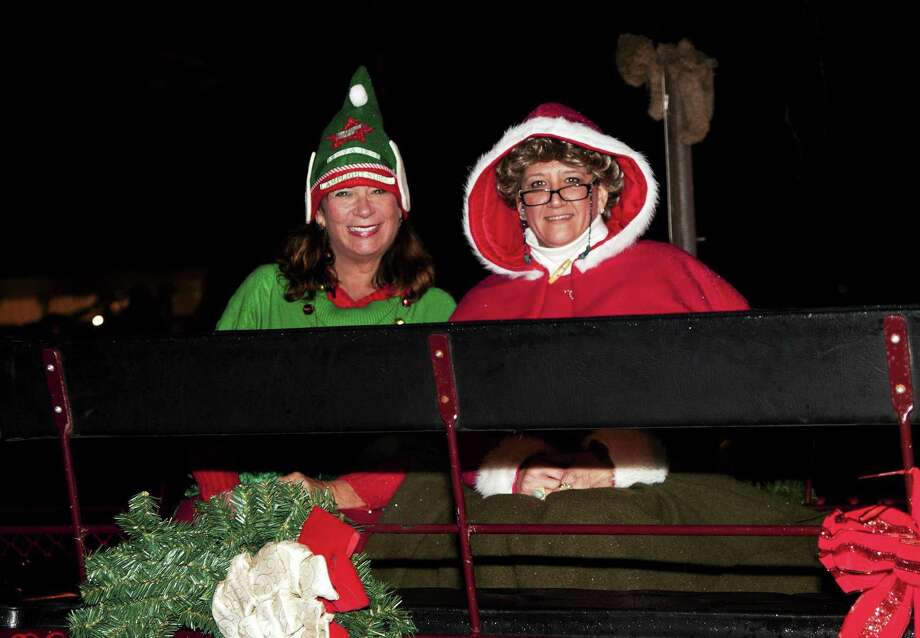 Mrs. Claus at a  previous Milford Lamplight Stroll. Photo: Contributed Photo