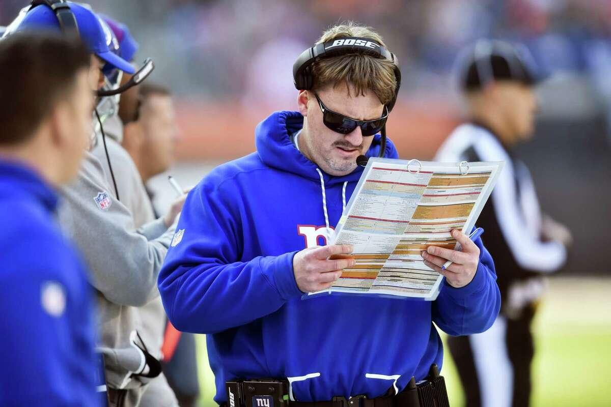 Giants head coach Ben McAdoo.