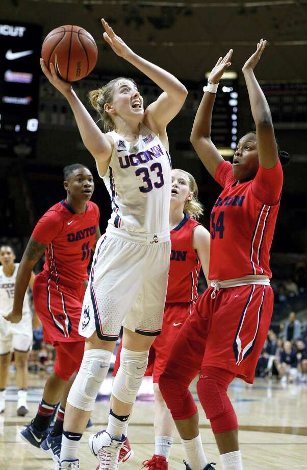 UConn's Katie Lou Samuelson. Photo: The Associated Press File Photo   / AP2016