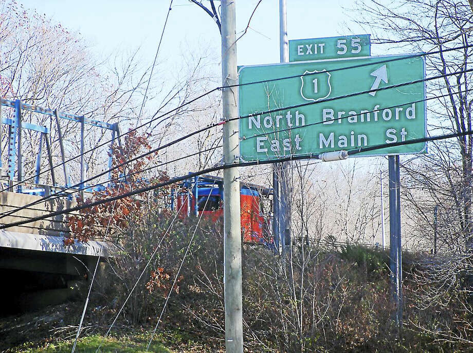 Jairus Benjamin, 4, of Hamden died after the car he was riding in crashed Sunday night at the bottom of the northbound Exit 55 off-ramp from Interstate 95 in Branford. Photo: Wes Duplantier — New Haven Register
