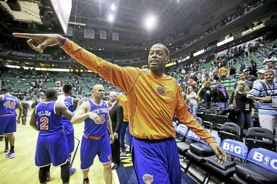 Former New York Knick Marcus Camby. Photo: The Associated Press File Photo   / AP