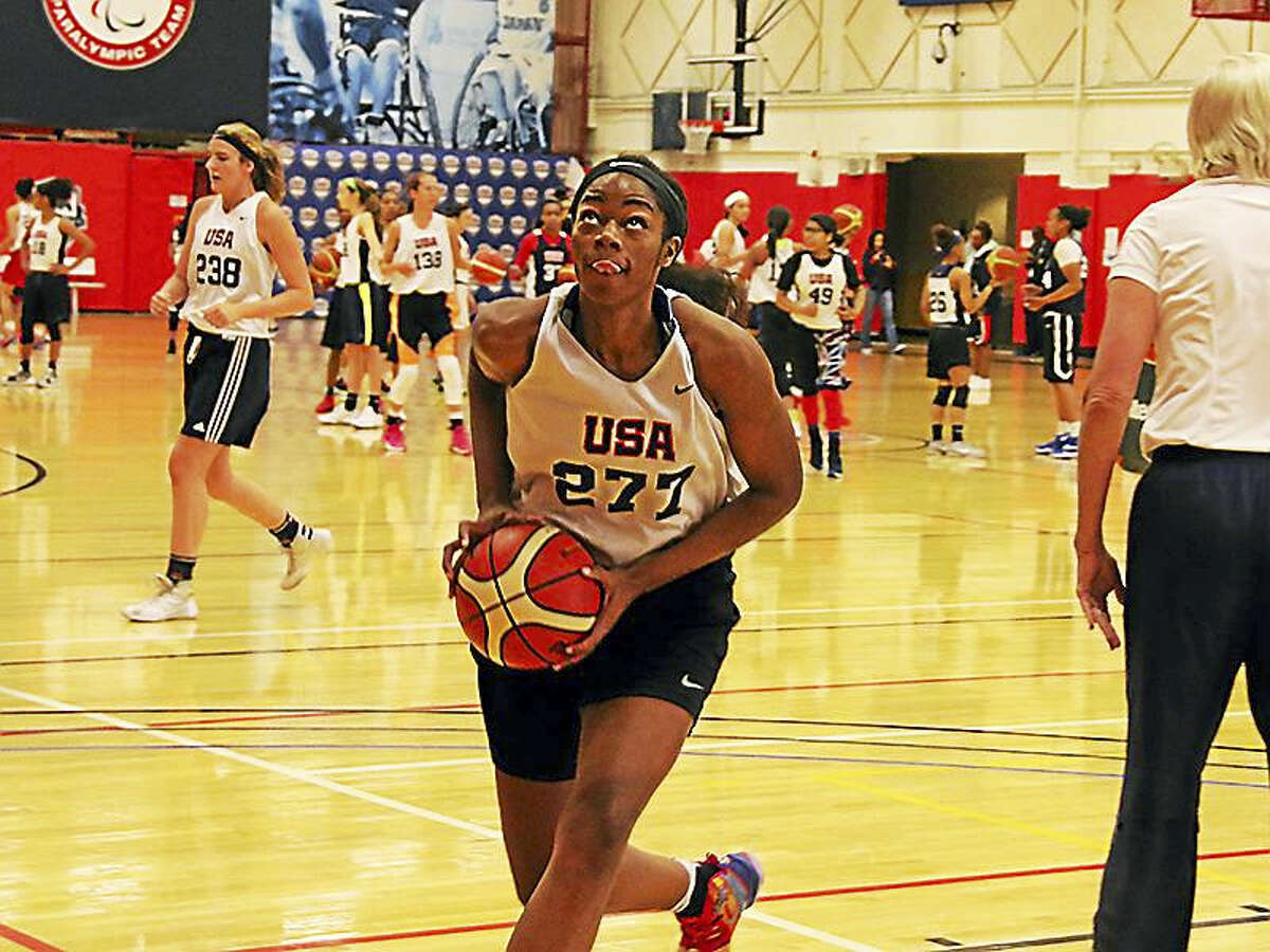 Charli Collier became the first player from the Class of 2018 to commit to playing at UConn.