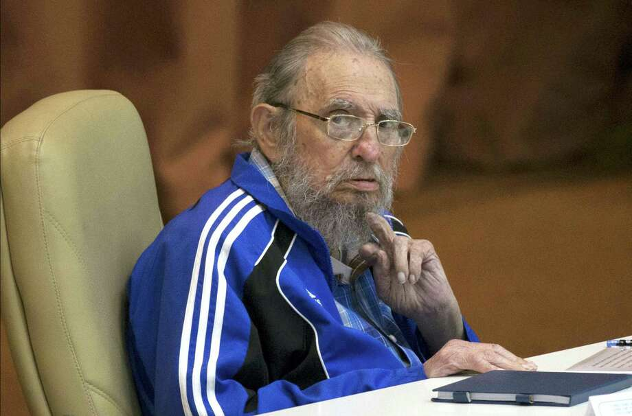 Fidel Castro attends the last day of the 7th Cuban Communist Party Congress in Havana, Cuba in April. Fidel Castro formally stepped down in 2008 after suffering gastrointestinal ailments and public appearances have been increasingly unusual in recent years. Cuban President Raul Castro has announced the death of his brother Fidel Castro at age 90 on Cuban state media on Friday, Nov. 25, 2016.   Ismael Francisco — Cubadebate via AP, File Photo: AP / Cubadebate