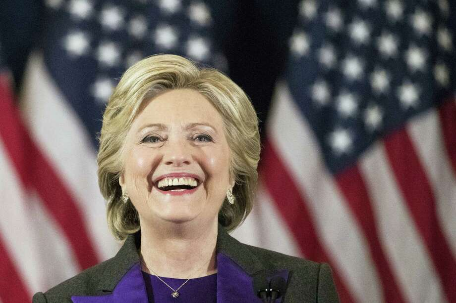 Democratic presidential candidate Hillary Clinton speaks in New York, where she conceded her defeat to Republican Donald Trump after the hard-fought presidential election. Photo: Matt Rourke — AP File Photo / Copyright 2016 The Associated Press. All rights reserved.