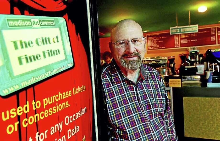 Arnold Gorlick of the Madison Art Cinema. Photo: Peter Hvizdak — New Haven Register   / ©2016 Peter Hvizdak