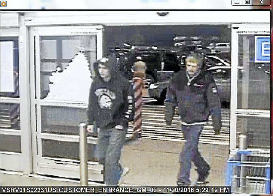 Two suspects believed to have been involved in vandalism incidents in multiple towns along the Shoreline. Photo: Courtesy Clinton PD