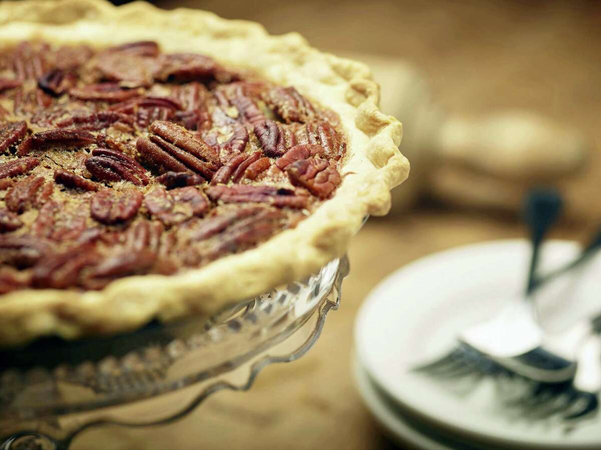 No Thanksgiving menu is complete without pecan pie.