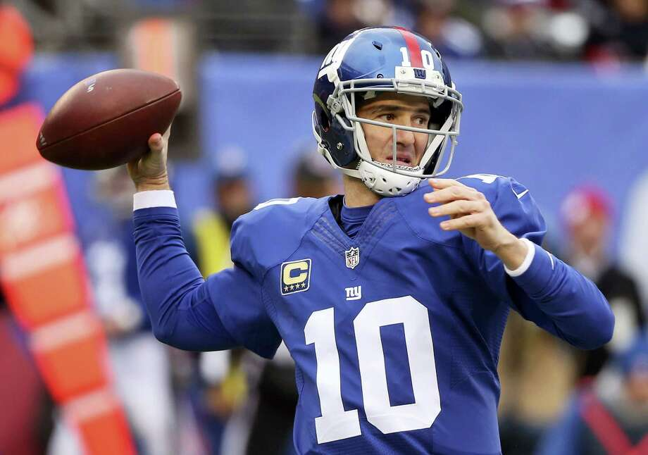 New York Giants quarterback Eli Manning. Photo: Seth Wenig — The Associated Press   / Copyright 2016 The Associated Press. All rights reserved.