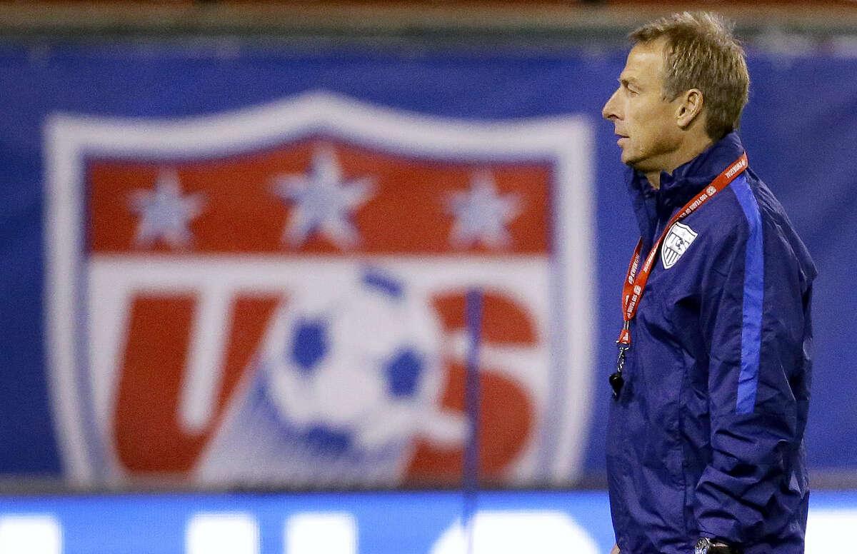 United States men's national soccer team coach Jurgen Klinsmann was fired on Monday.