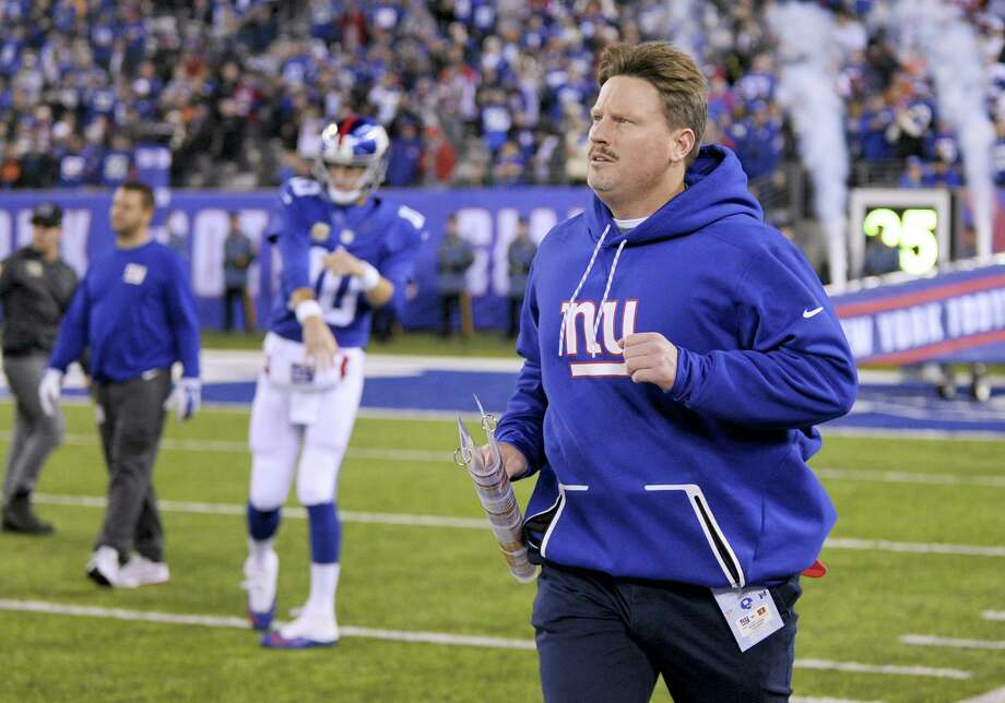 Giants head coach Ben McAdoo. Photo: Bill Kostroun — The Associated Press   / FR51951 AP