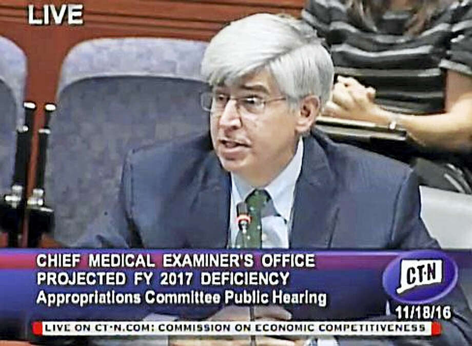 Chief Medical Examiner James Gill Photo: Courtesy Of CTNJ