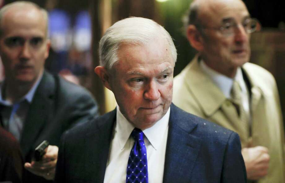 In this Nov. 15, 2016, file photo, Sen. Jeff Sessions, R-Ala., arrives at Trump Tower in New York. As one of President-elect Donald Trump's closest and most consistent allies, Sessions is a likely pick for a top post in his administration. But the last time Sessions faced Senate confirmation, it didn't go well. Photo: AP Photo/Carolyn Kaster, File    / Copyright 2016 The Associated Press. All rights reserved.