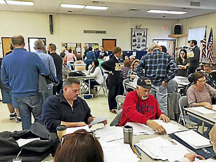 East Haven's recount Photo: Jack Kramer Photo