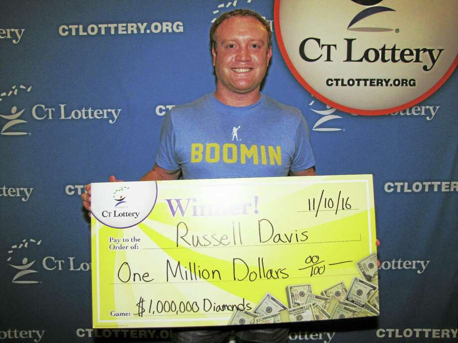 Russell Davis Photo: Courtesy CT Lottery
