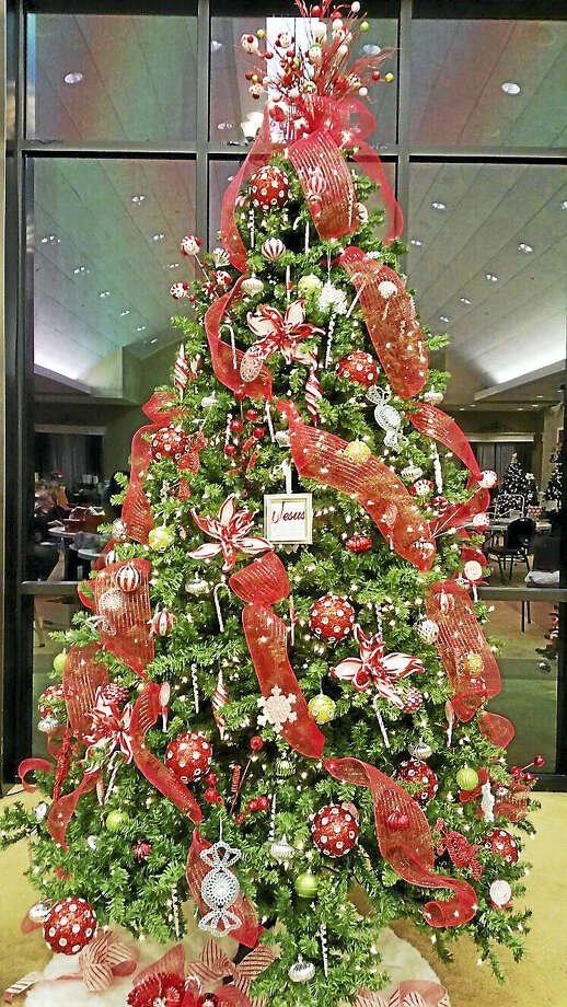 """""""Candy Cane Wishes"""" at """"Holiday Fantasy of Trees."""" Photo: Contributed"""