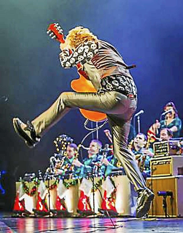 The Brian Setzer Orchestra in concert.