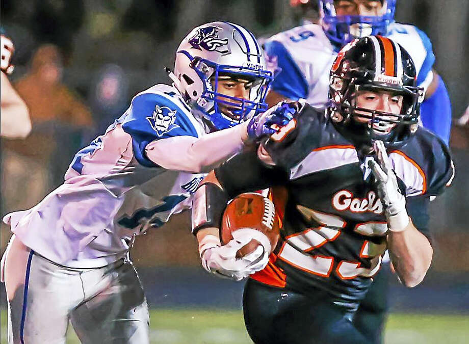 The West Haven Blue Devils traveled to Shelton to take on the Gaels at Edward Finn Stadium this past weekend in a SCC Division 1 matchup. West Haven came away victorious after a hard-fought contest. Photo: John VanacorE — New Haven Register