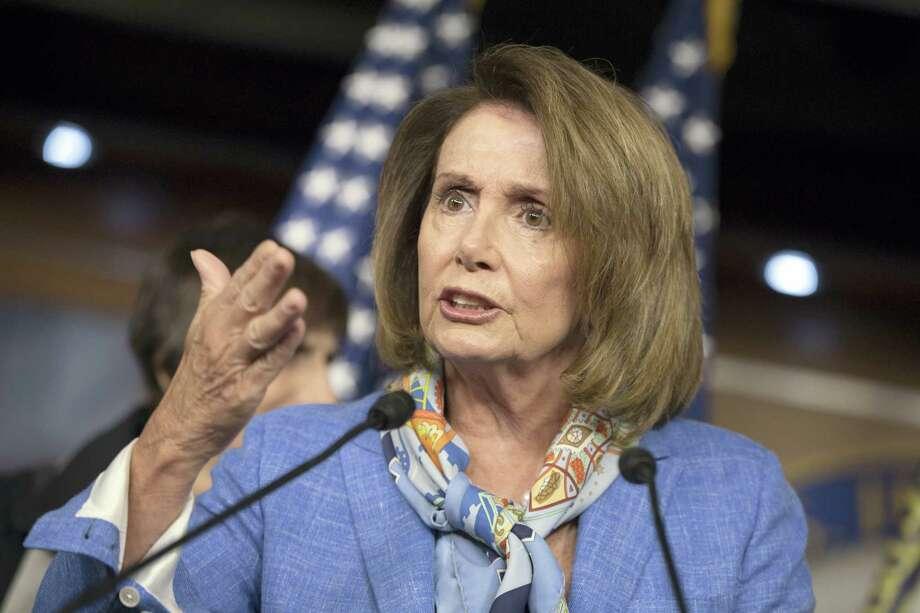 House Minority Leader Nancy Pelosi, D-Calif. speaks at a news conference on Capitol Hill in Washington. Photo: AP Photo/J. Scott Applewhite, File   / AP