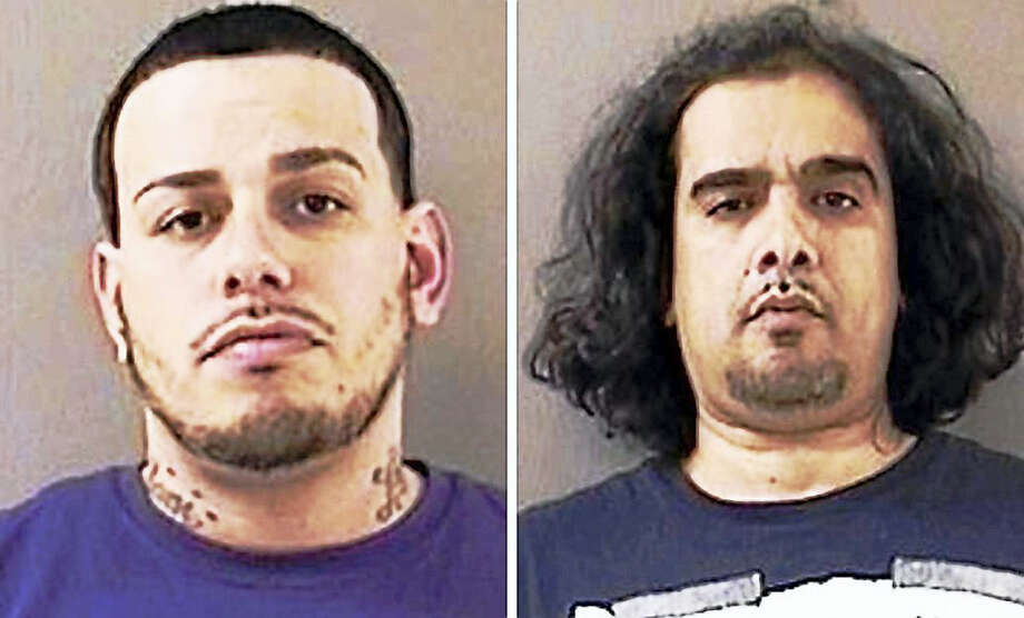 "Jeremy Rodriguez and Heriberto ""Eddie"" Lebron Photo: Photos Courtesy Of The Wallingford Police Department"
