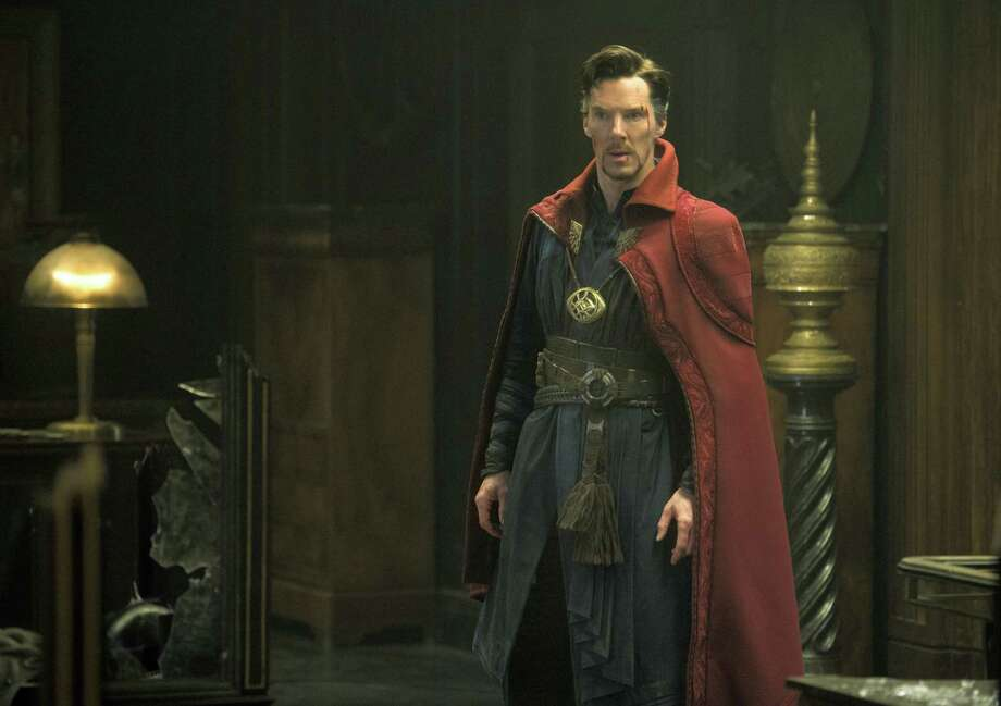 """This image released by Disney shows Benedict Cumberbatch in a scene from Marvel's """"Doctor Strange."""" (Jay Maidment/Disney/Marvel via AP) Photo: AP / null"""