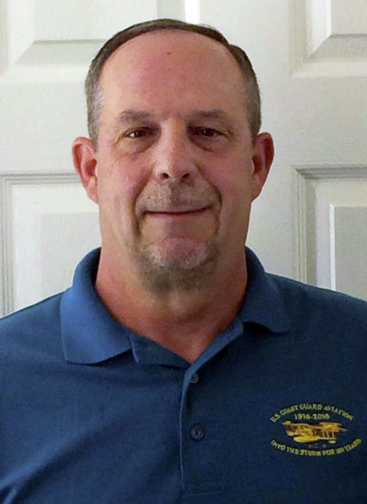 This Nov. 9, 2016 selfie photo provided by retired U.S. Coast Guard Capt. William Peterson shows Peterson in Mystic, Conn. Peterson will be inducted Nov. 10, 2016, into the Wall of Gallantry at the Coast Guard Academy in New London, Conn. He will be honored for helping rescue nine colleagues whose cargo plane crashed on a hillside on the western Aleutian Island of Attu off Alaska in 1982.