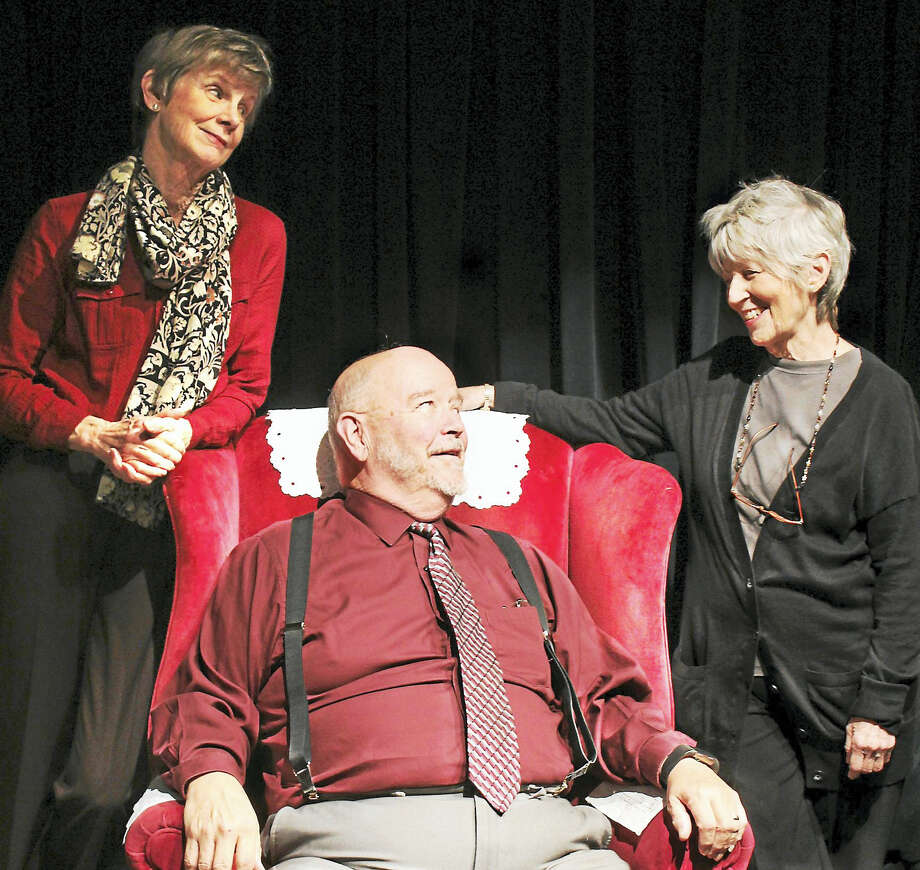 "From left, Margaret Mann, John Watson and Janie Tamarkin in ""Last Romance."" Photo: Contributed"