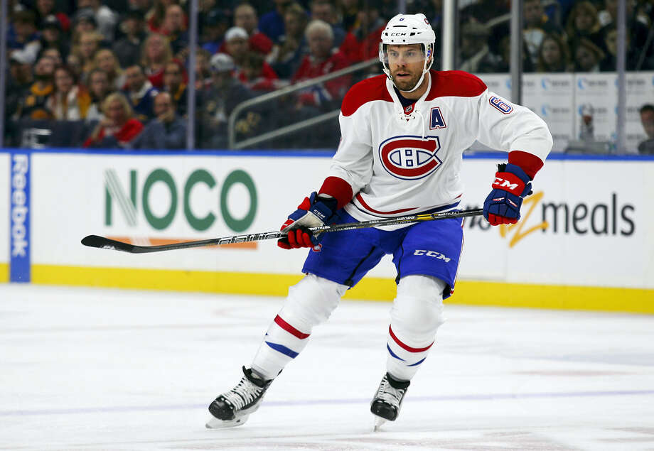 In this Oct. 13, 2016 photo, Montreal Canadiens' Shea Weber skates during the team's NHL hockey game against the Buffalo Sabres in Buffalo, N.Y. A season after Canada was shut out of the NHL playoffs for the first time since 1970, two teams north of the border are off to strong starts. The Canadiens and the Edmonton Oilers made major moves in the offseason and they have panned out so far, helping them lead their divisions. Photo: AP Photo/Jeffrey T. Barnes, FIle   / 2016